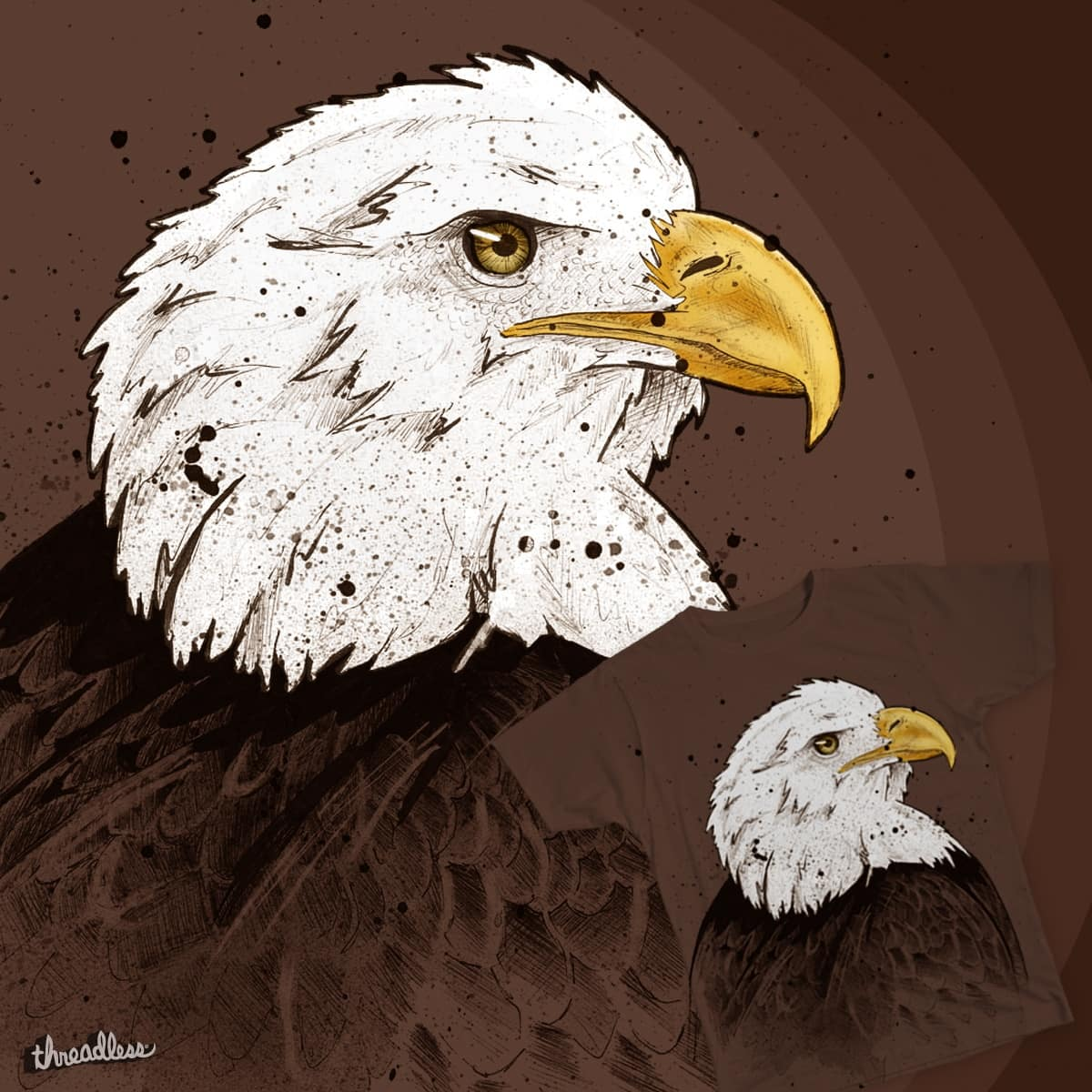 Eagle by Quinto_C on Threadless