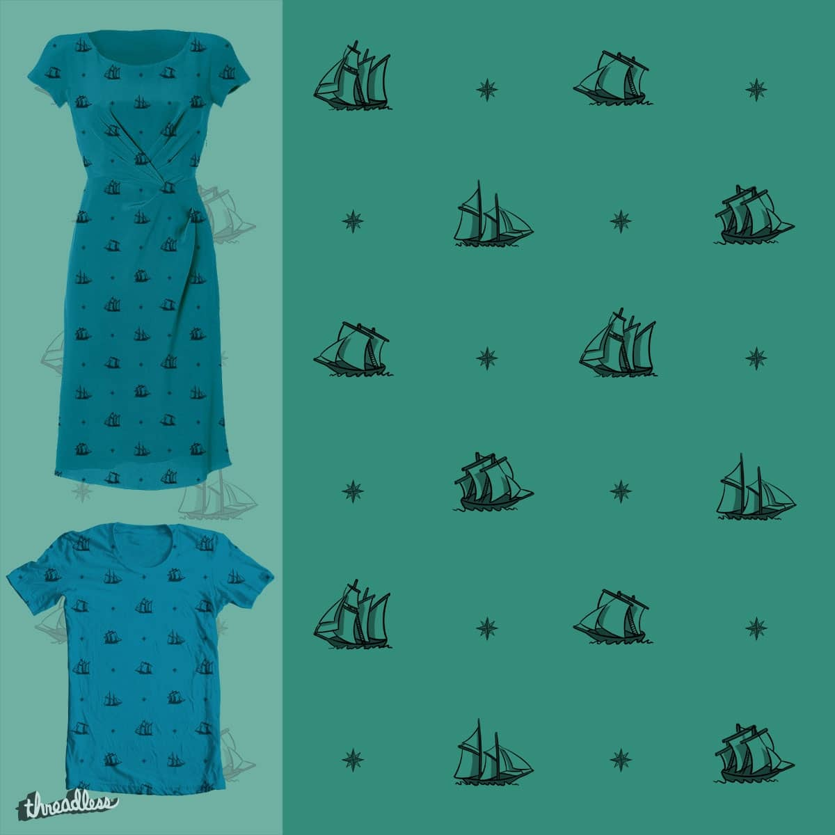 Ahoy by P0ckets on Threadless