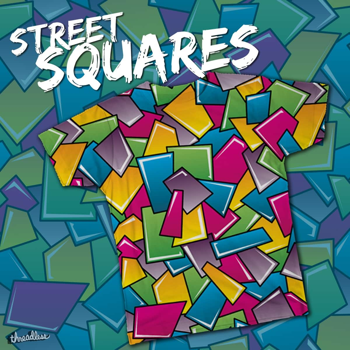 Street Squares by robyriker on Threadless