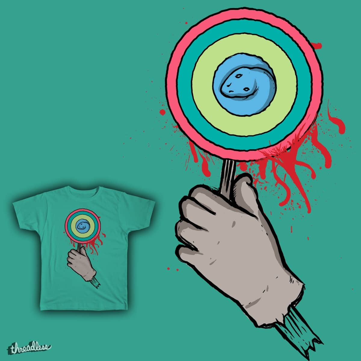 Candy Snake by AgataTito on Threadless
