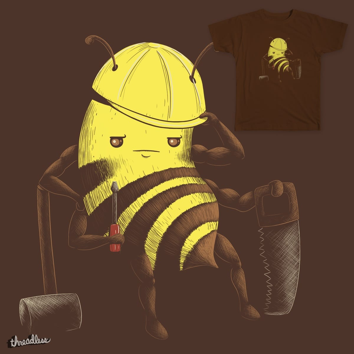 Worker Bee by spookylili on Threadless