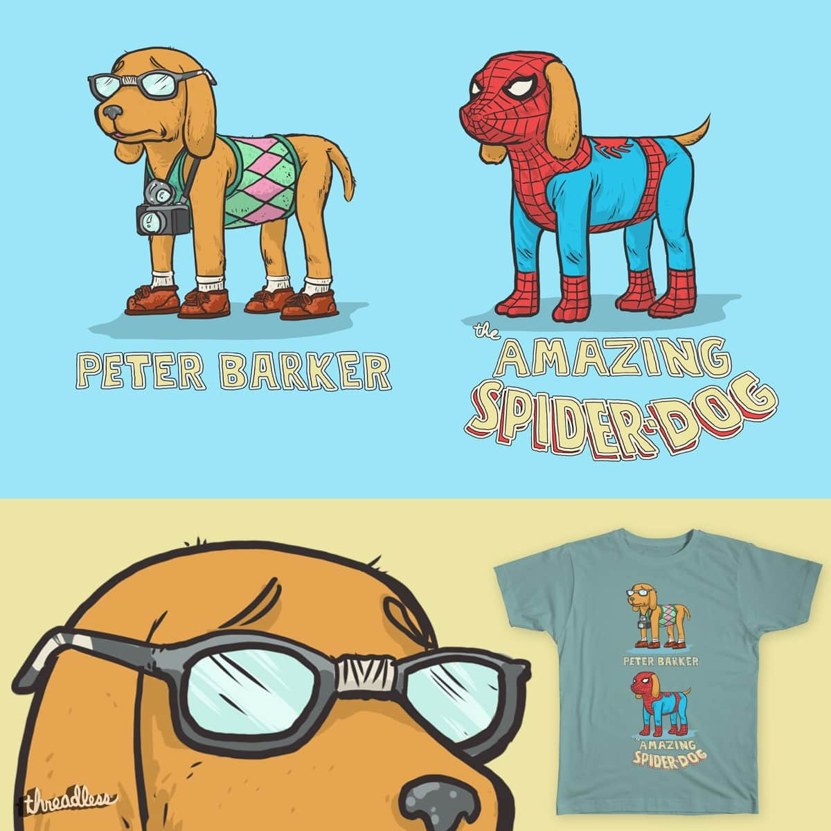 Peter Barker by Josh_Sketchy on Threadless