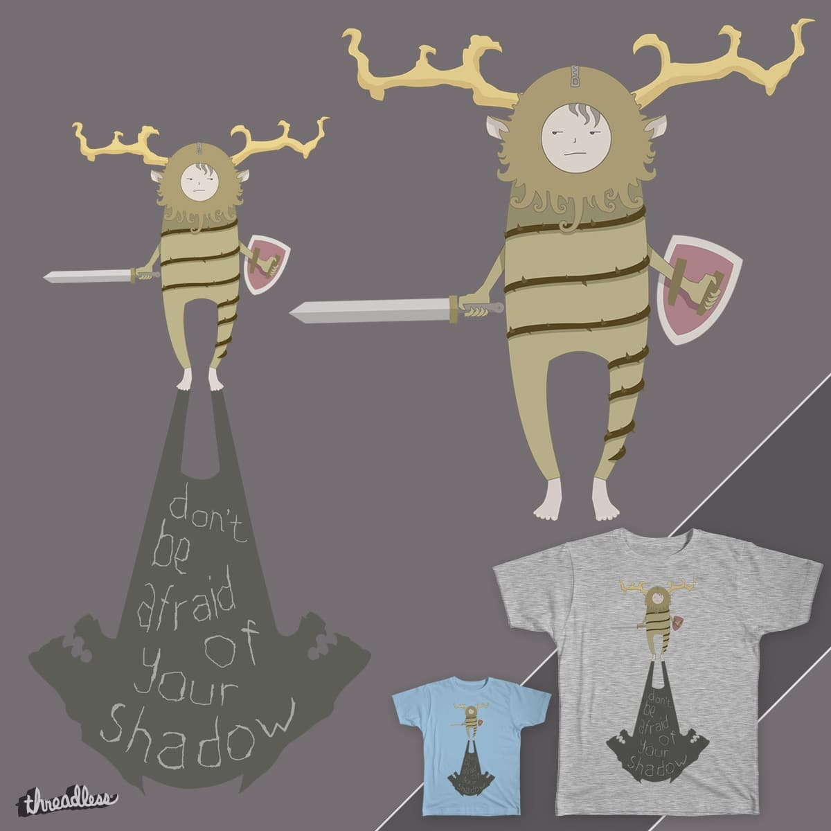 Kid Courage by astheoceansblue on Threadless