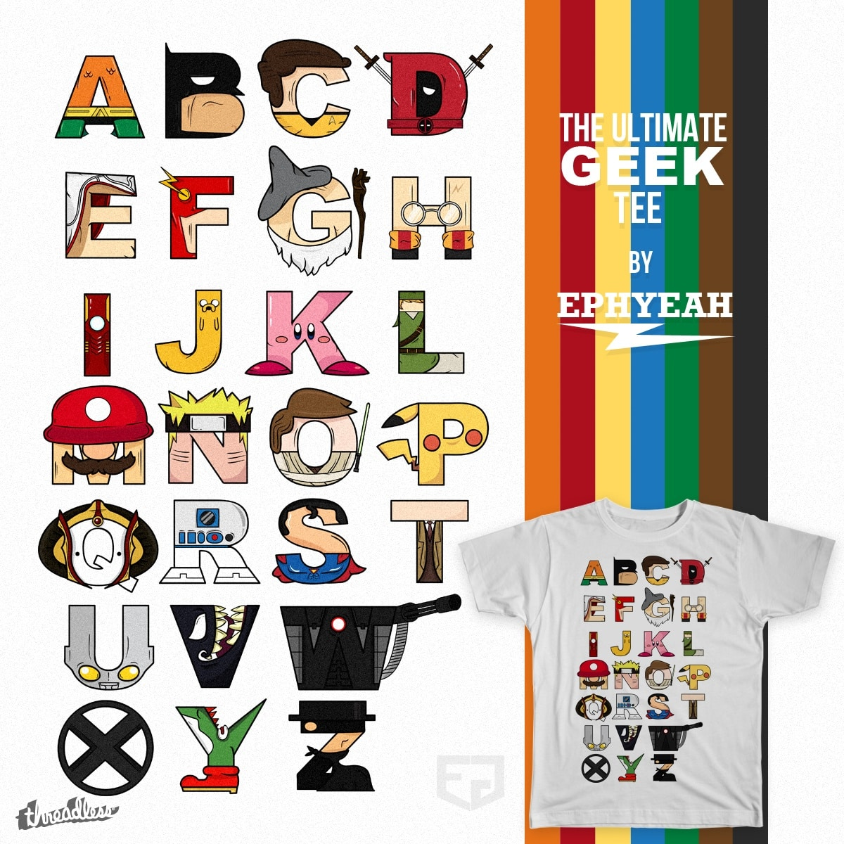 The Ultimate Geek Tee by Ephyeah on Threadless