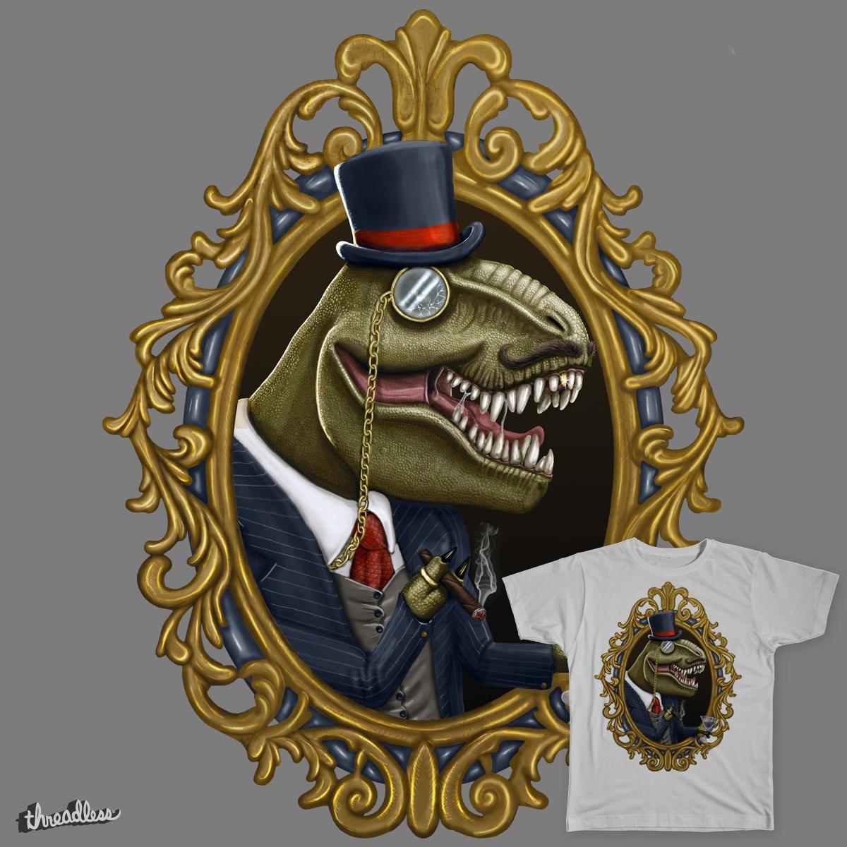 Dastardly Dinosir by Magnaen on Threadless