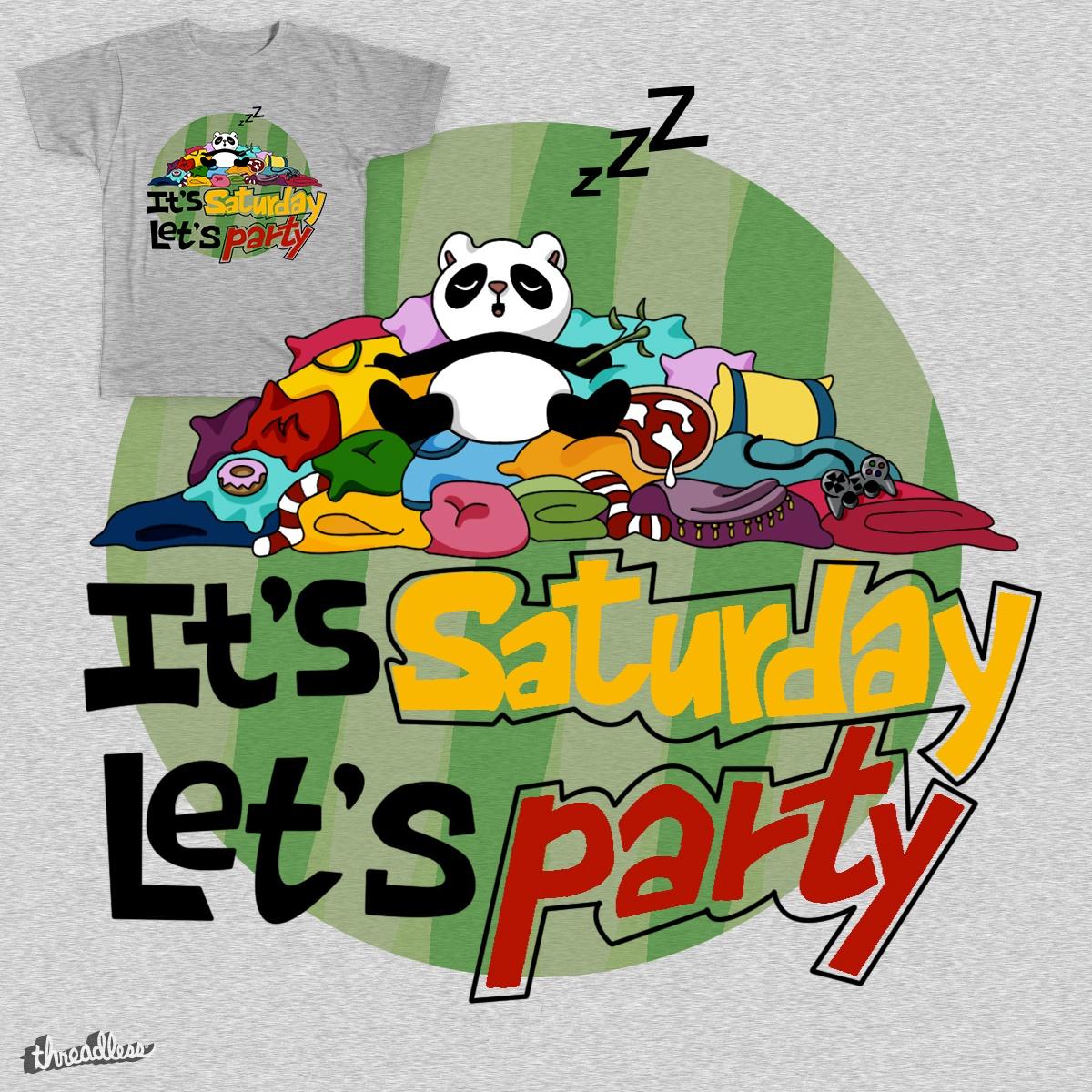 Panda Party by Michela Vignola on Threadless