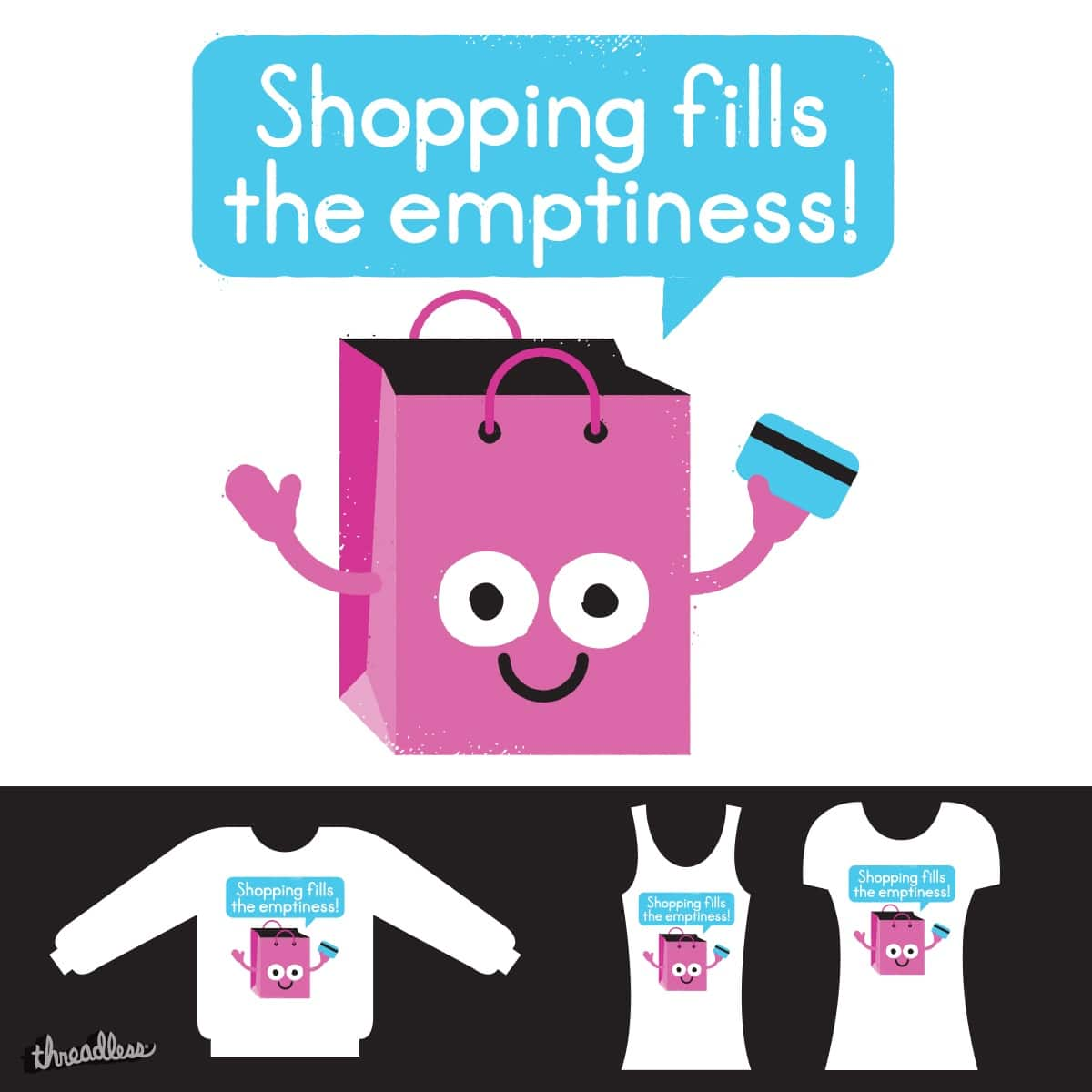 Retail Therapy by DRO72 on Threadless