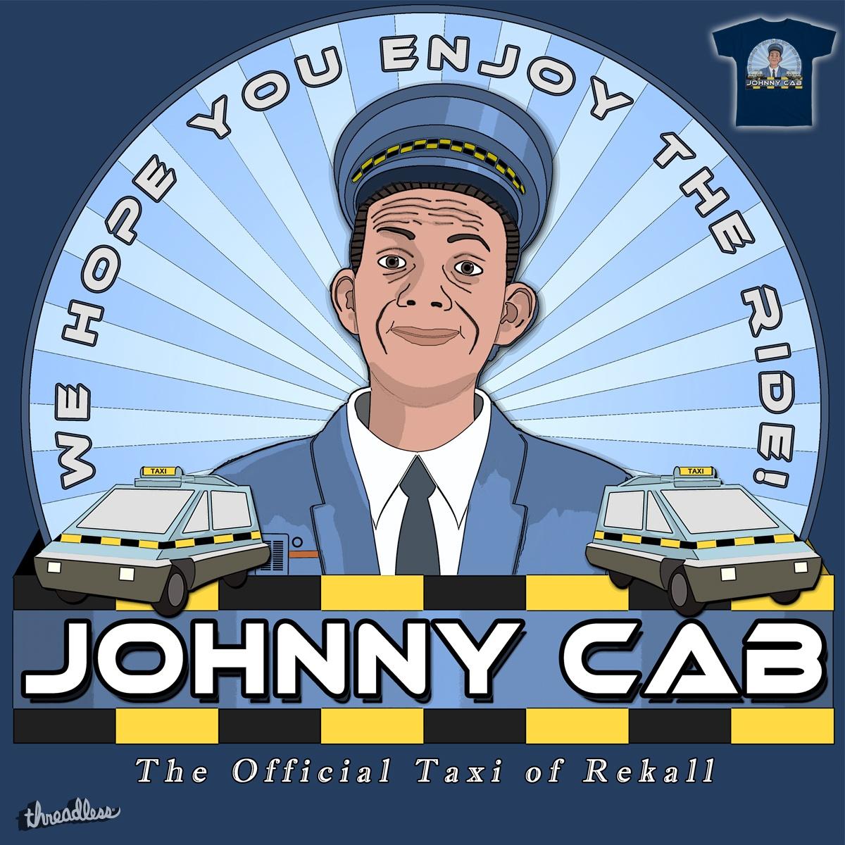 Johnny Cab by agunstreetgirl on Threadless