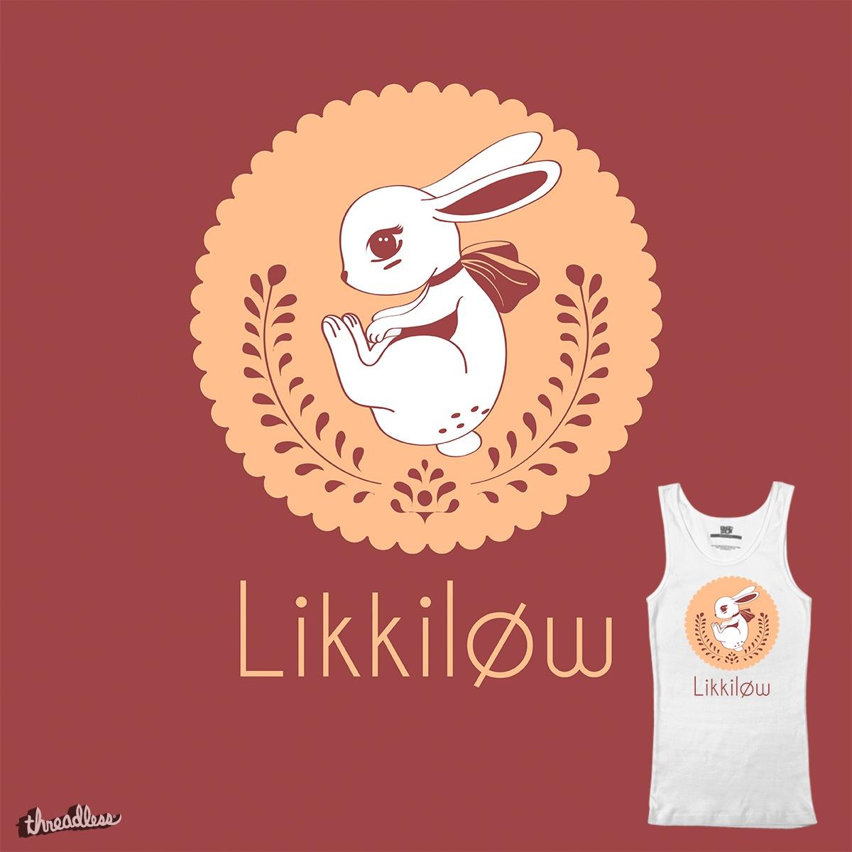Likkilow's Bunny by Likkilow on Threadless