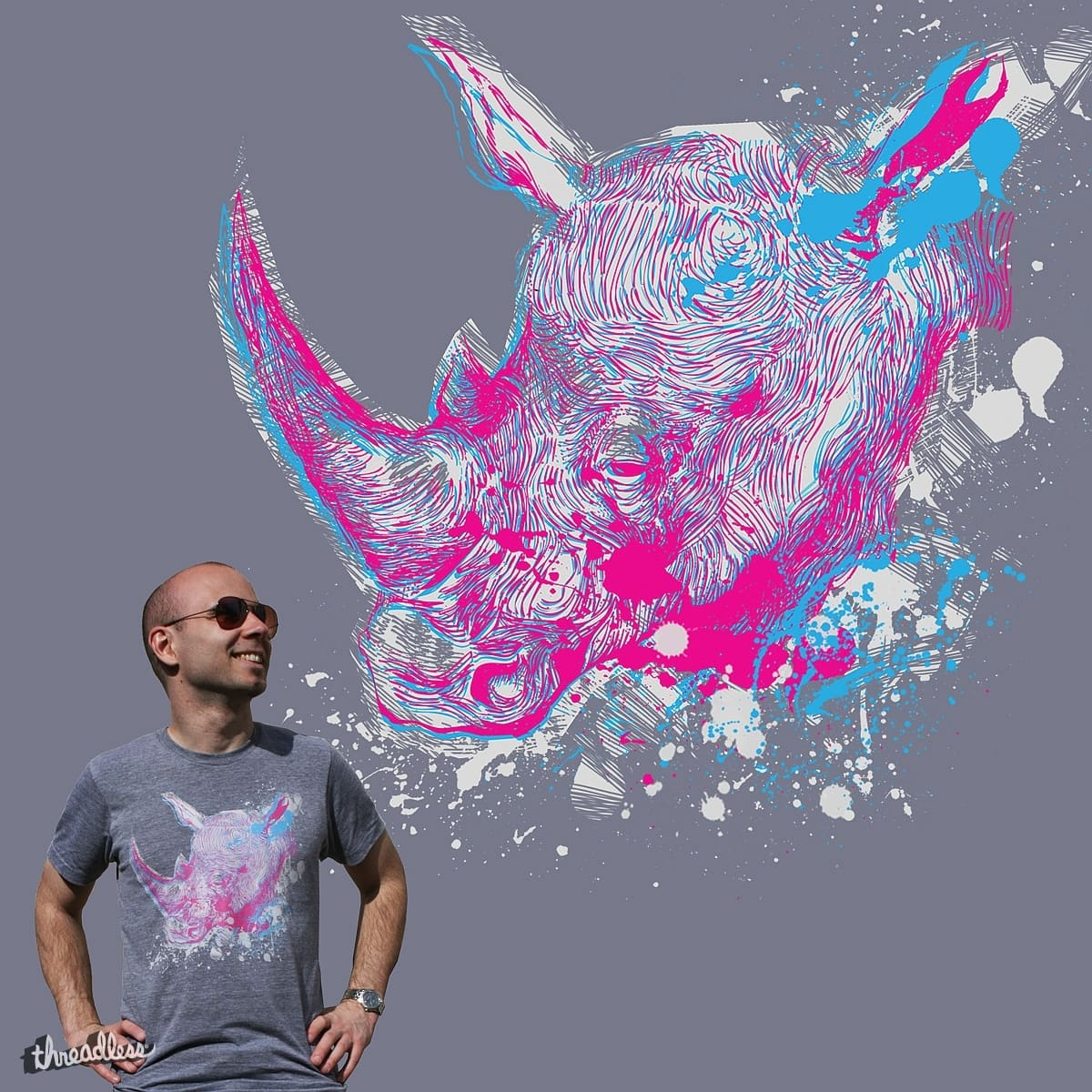 Bad Rhino by BadPony on Threadless
