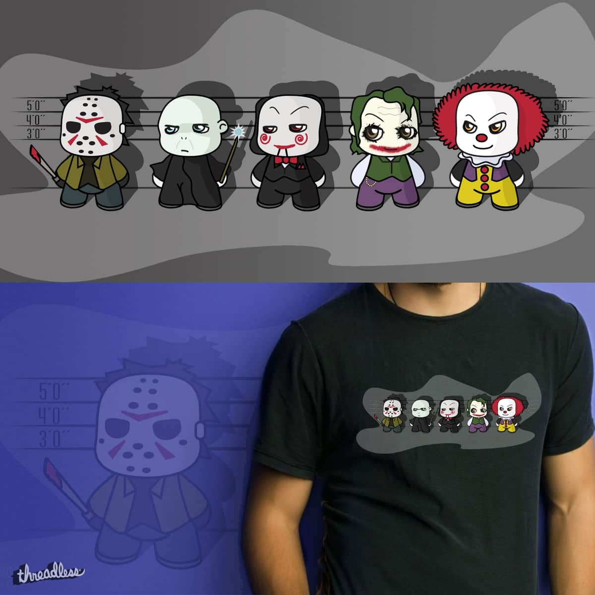 The Usual Suspects by acond3 on Threadless