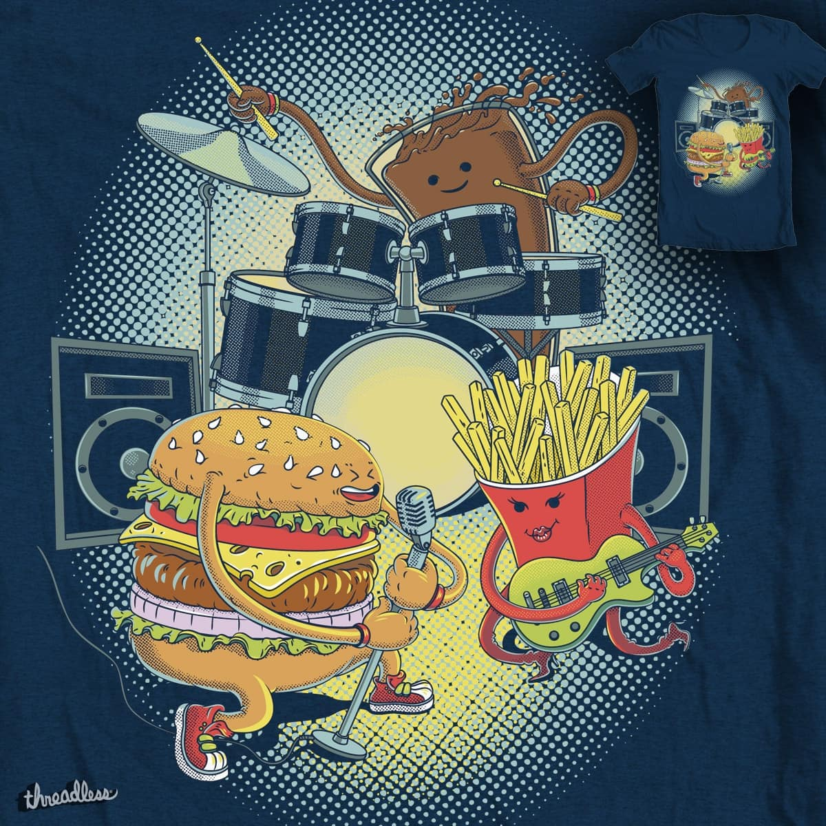 burger song by Ircadelik on Threadless