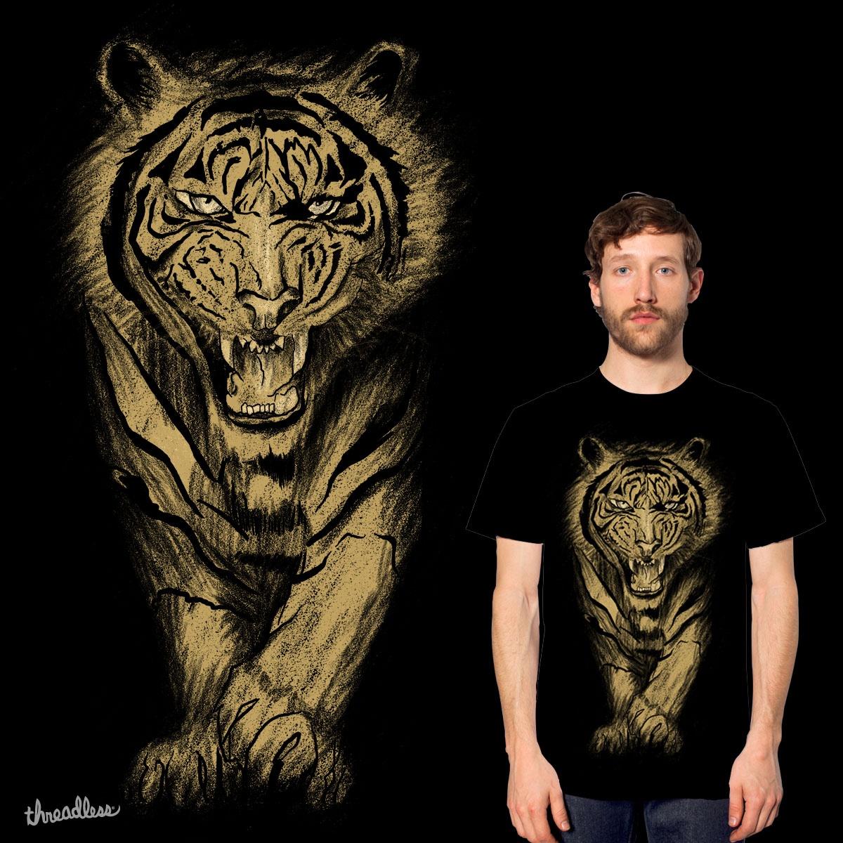 Tigers roar by gupikus on Threadless
