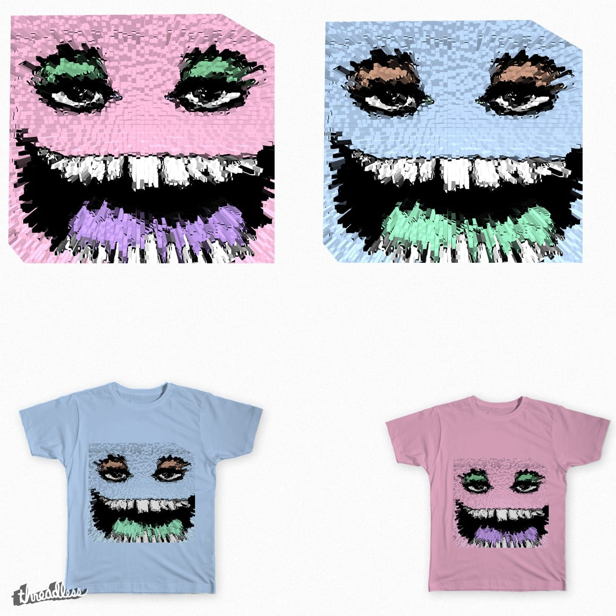 square face by jumbogiant21 on Threadless