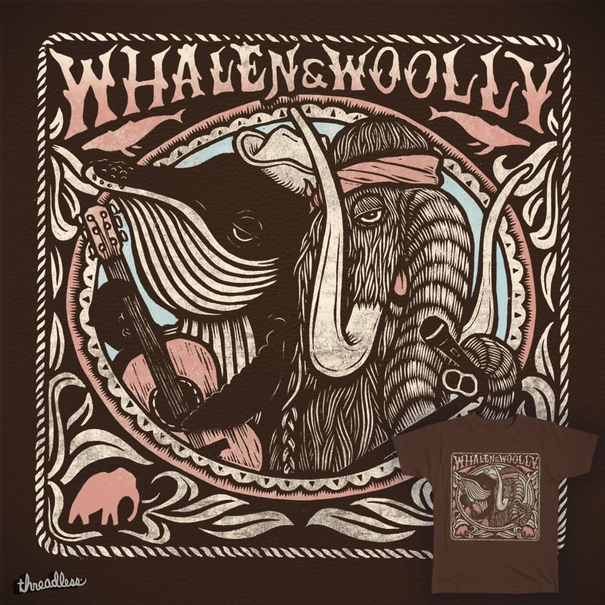 Whalen & Woolly by dylanjg on Threadless