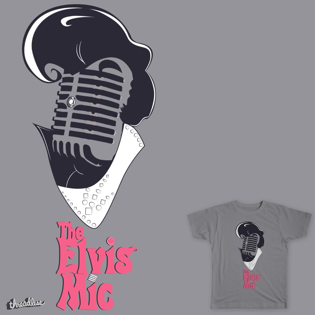 The Elvis Mic by EdiLOp80s on Threadless