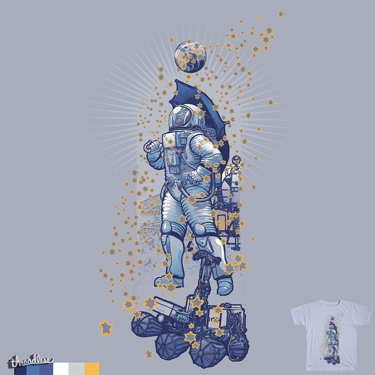 singin' in the (star)rain by choubaka360 on Threadless