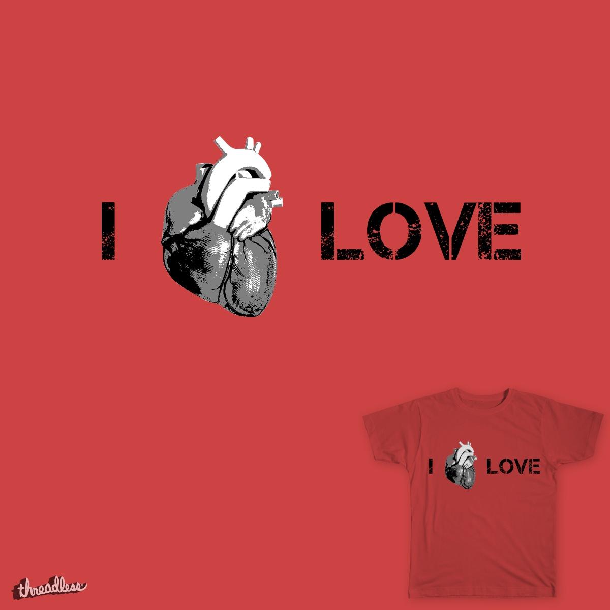 I heart love by oneofthesedays on Threadless