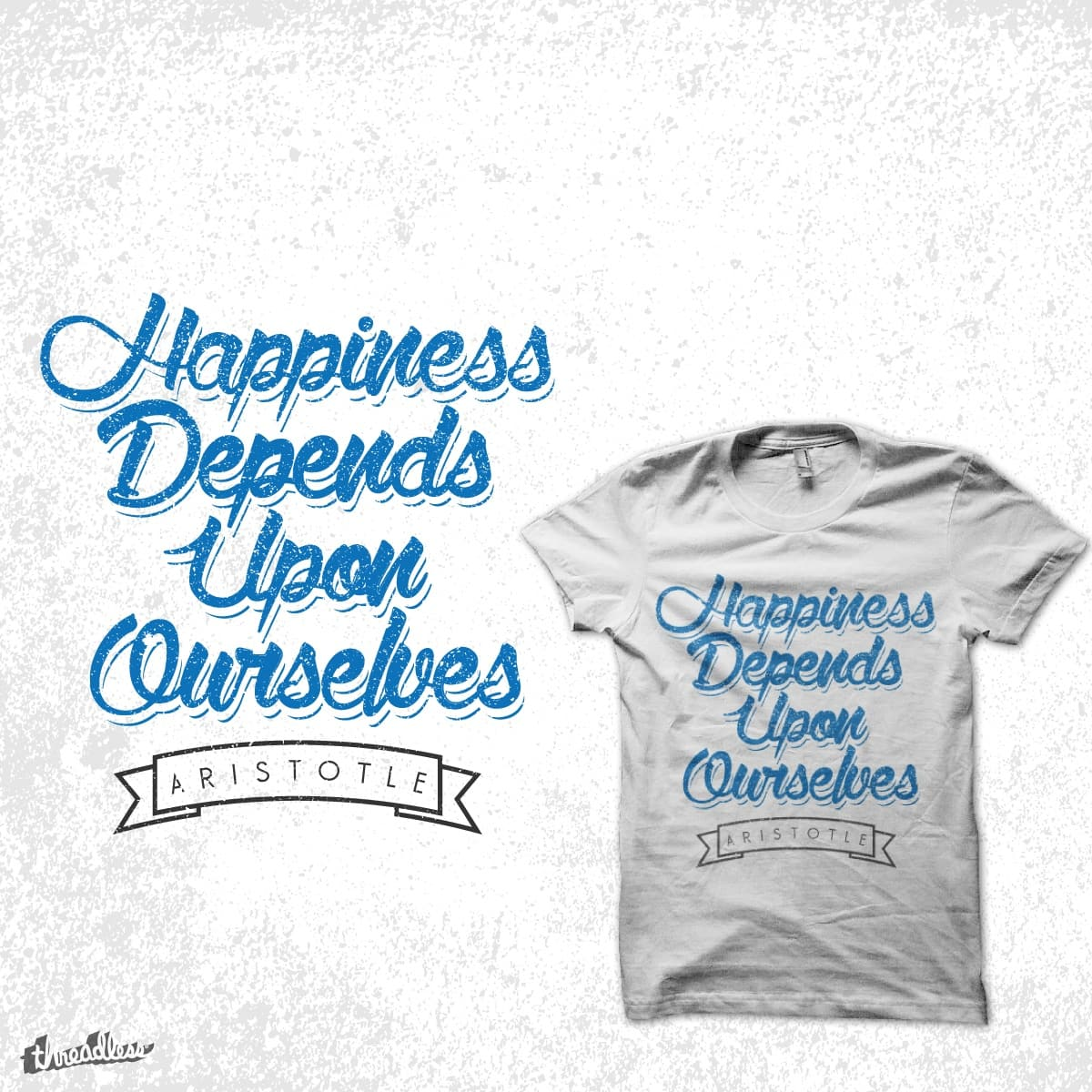 Happiness! by reaxur on Threadless
