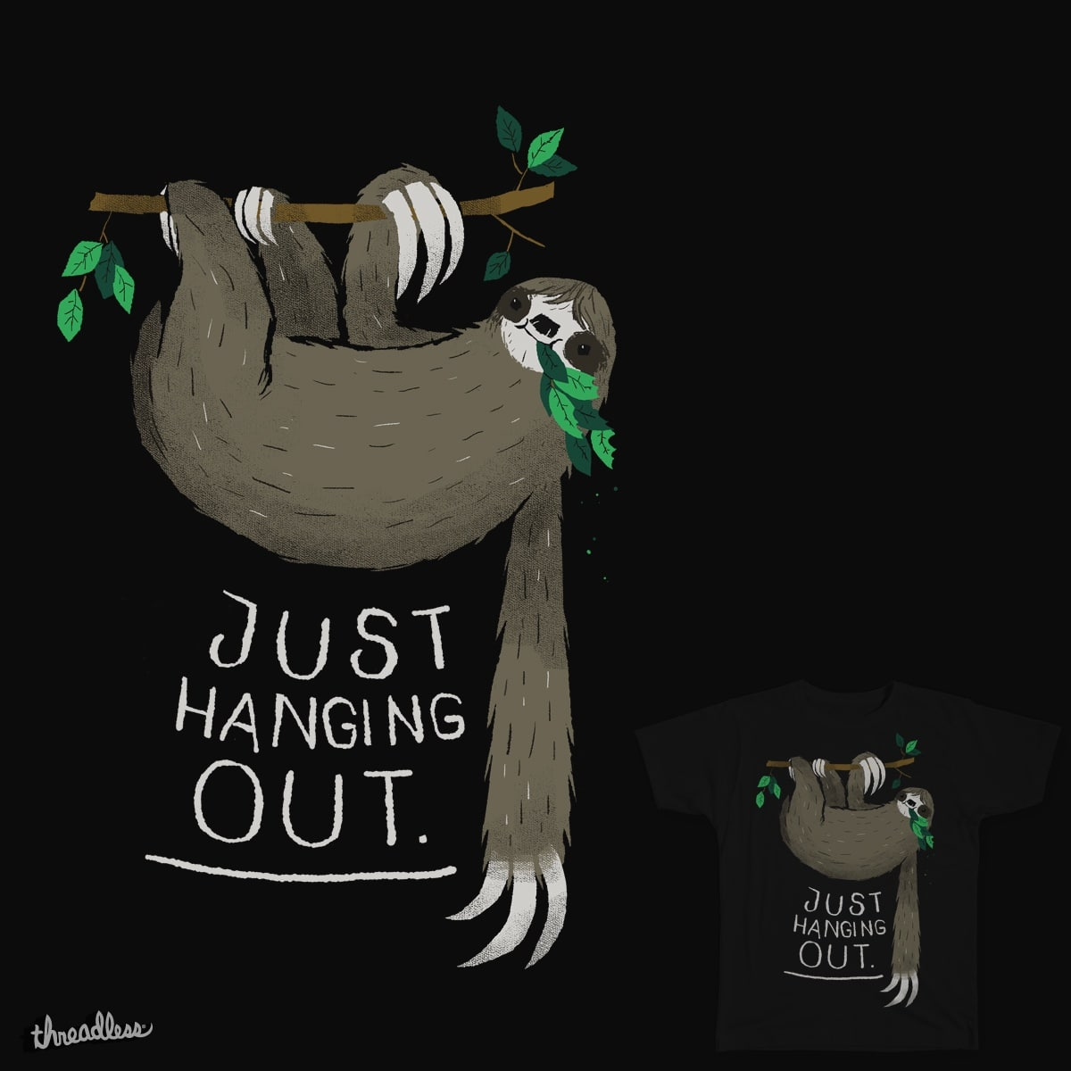 just hanging out by louisroskosch on Threadless