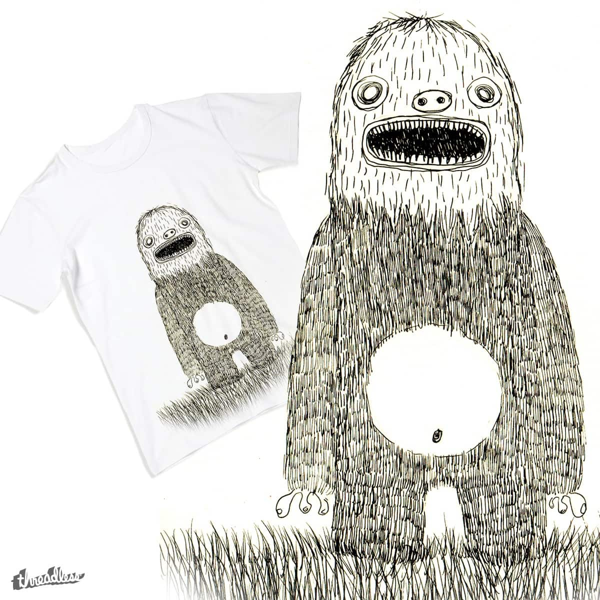 The Sensitive Monster by Pimaind on Threadless