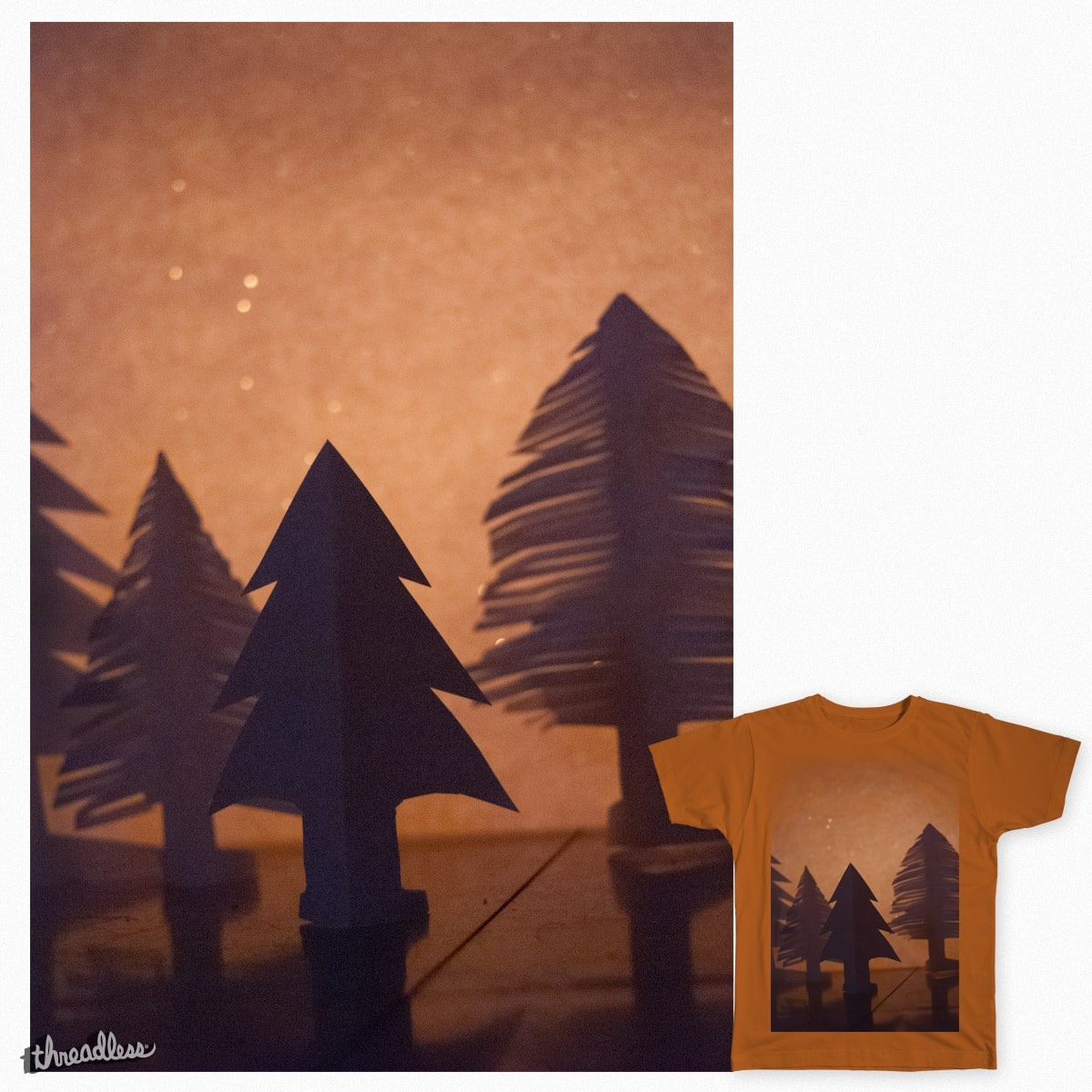 Paper Trees by EDE0001 on Threadless