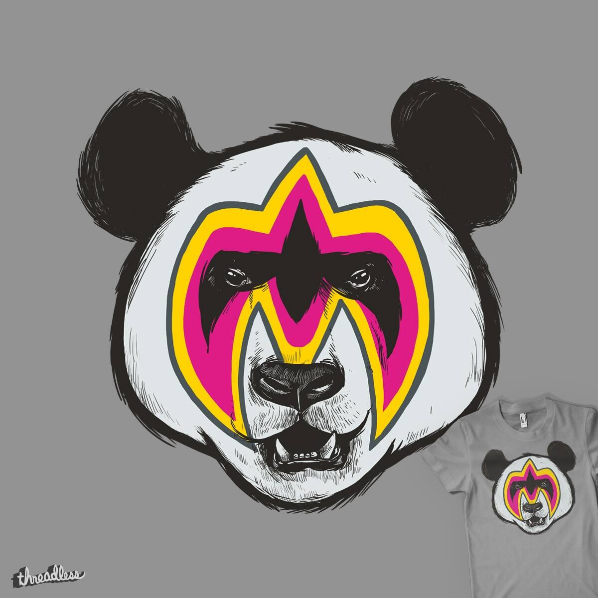 Ultimate Panda by MadKobra and goliath72 on Threadless