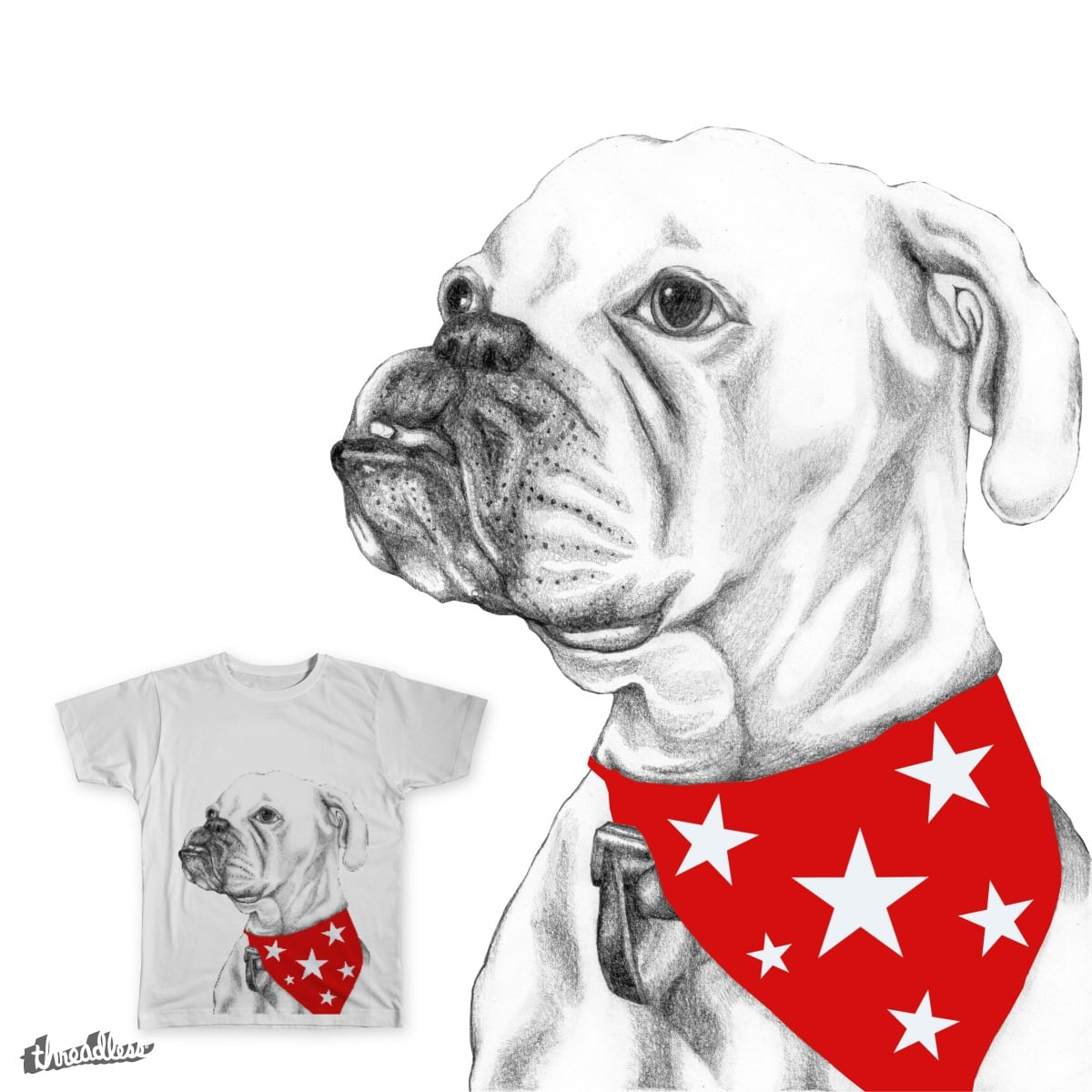 Boxer by Nmaiklem on Threadless