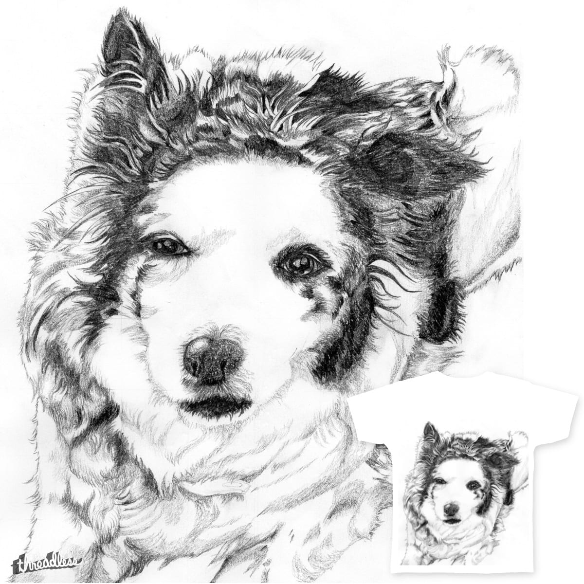 Collie by Nmaiklem on Threadless