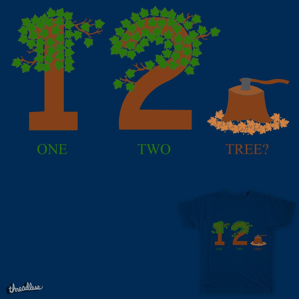 1 2 Tree by dpmcnally15 on Threadless