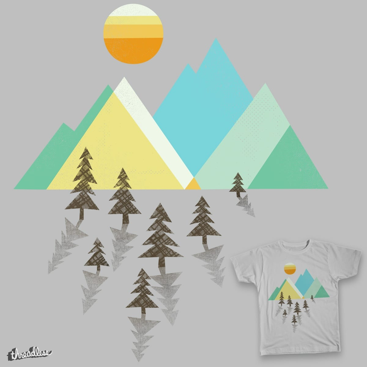 Asphalt Sun by expomonster on Threadless