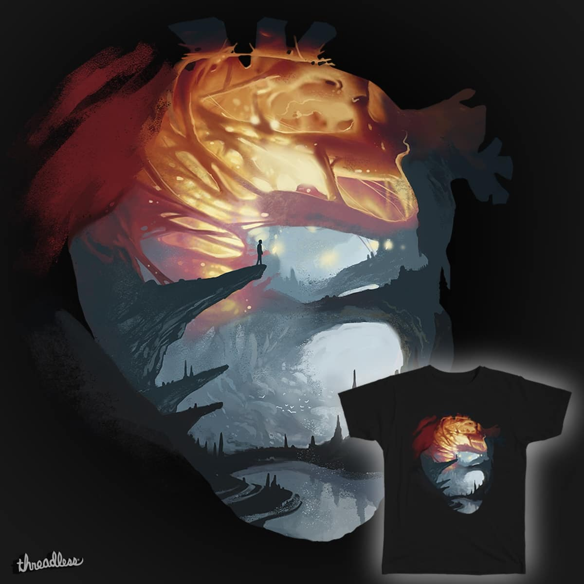 Searching for Love by Yak Love on Threadless