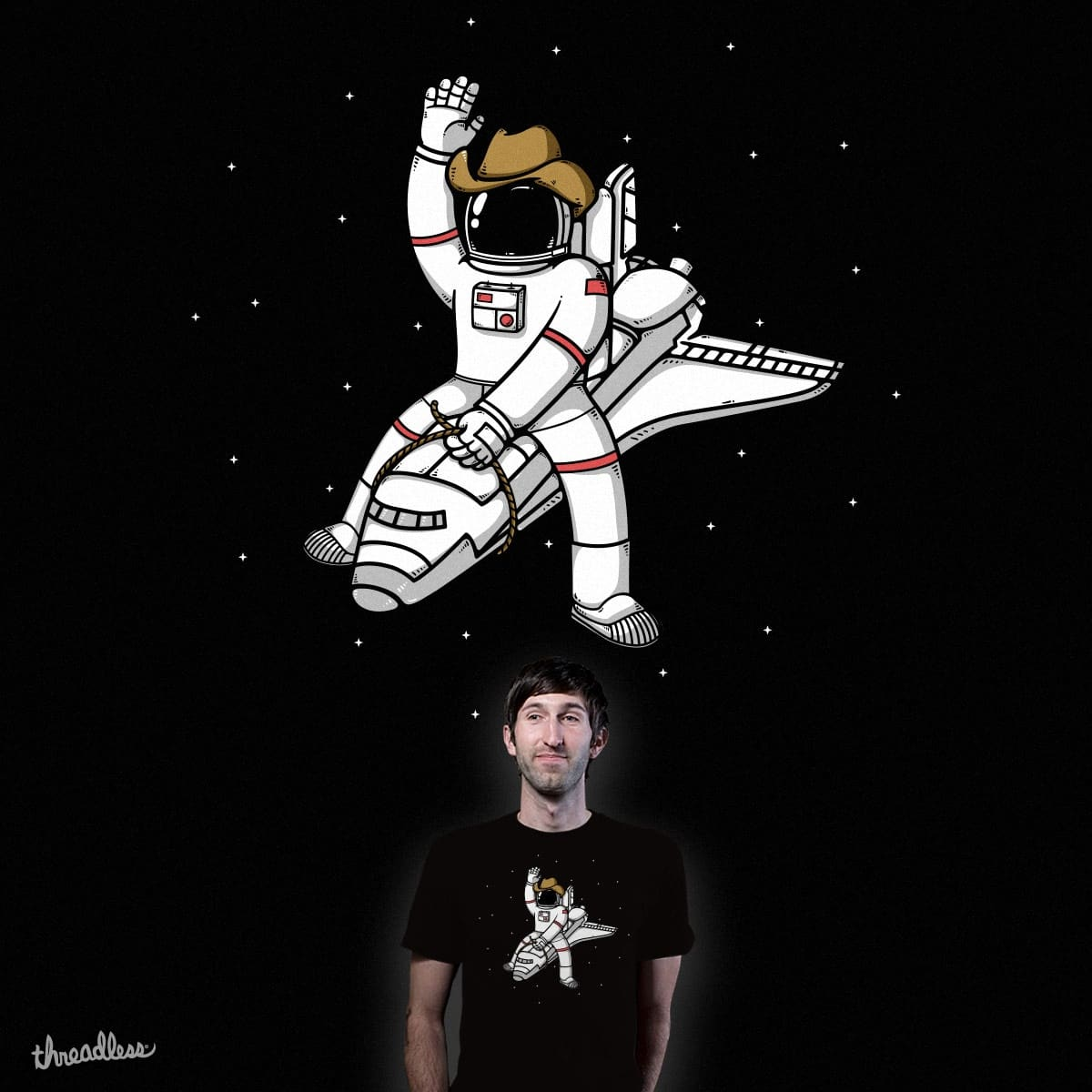 Astrodeo by Robo Rat and dock icon on Threadless