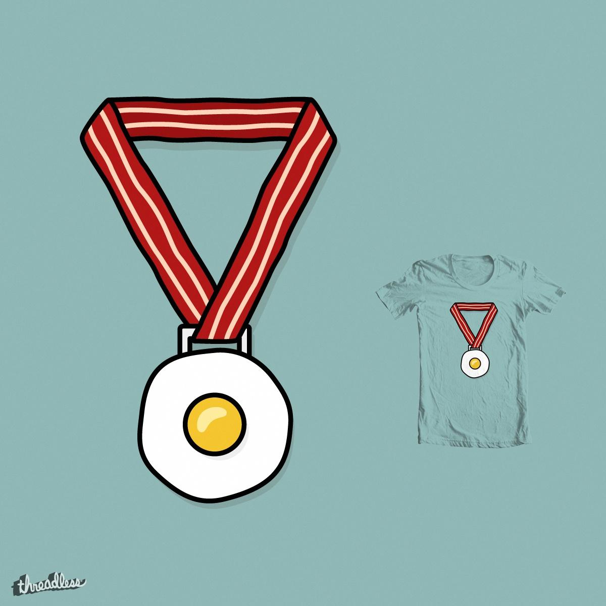 Breakfast of Champions by Haasbroek on Threadless
