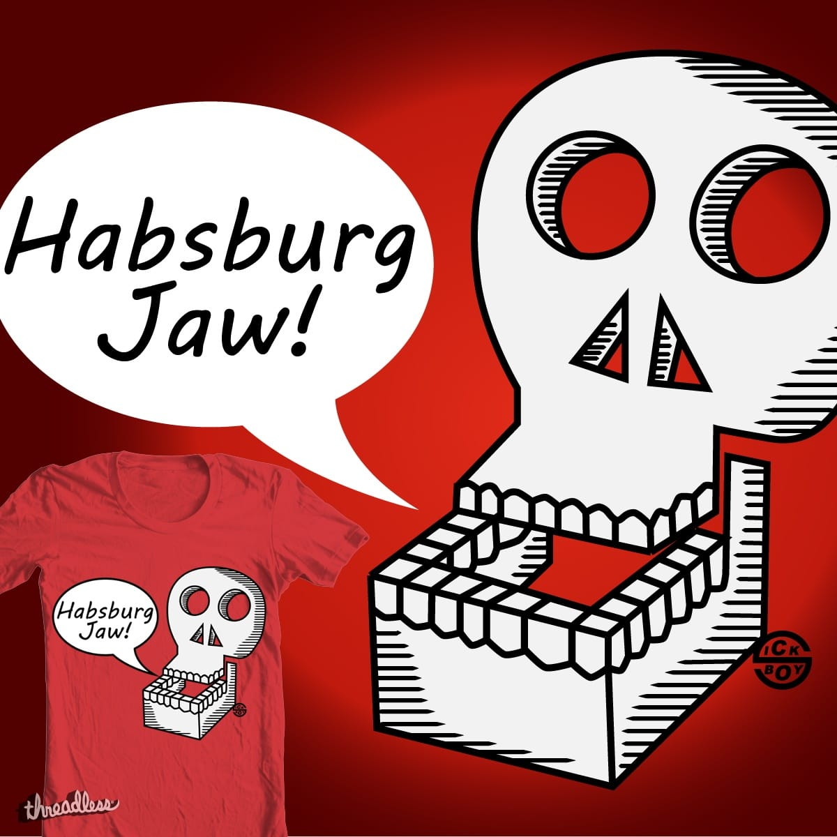 Score Habsburg Jaw By Sick Boy On Threadless