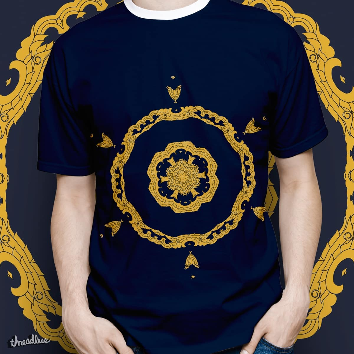 Buddhist Wheel of Life by LuisFaus on Threadless