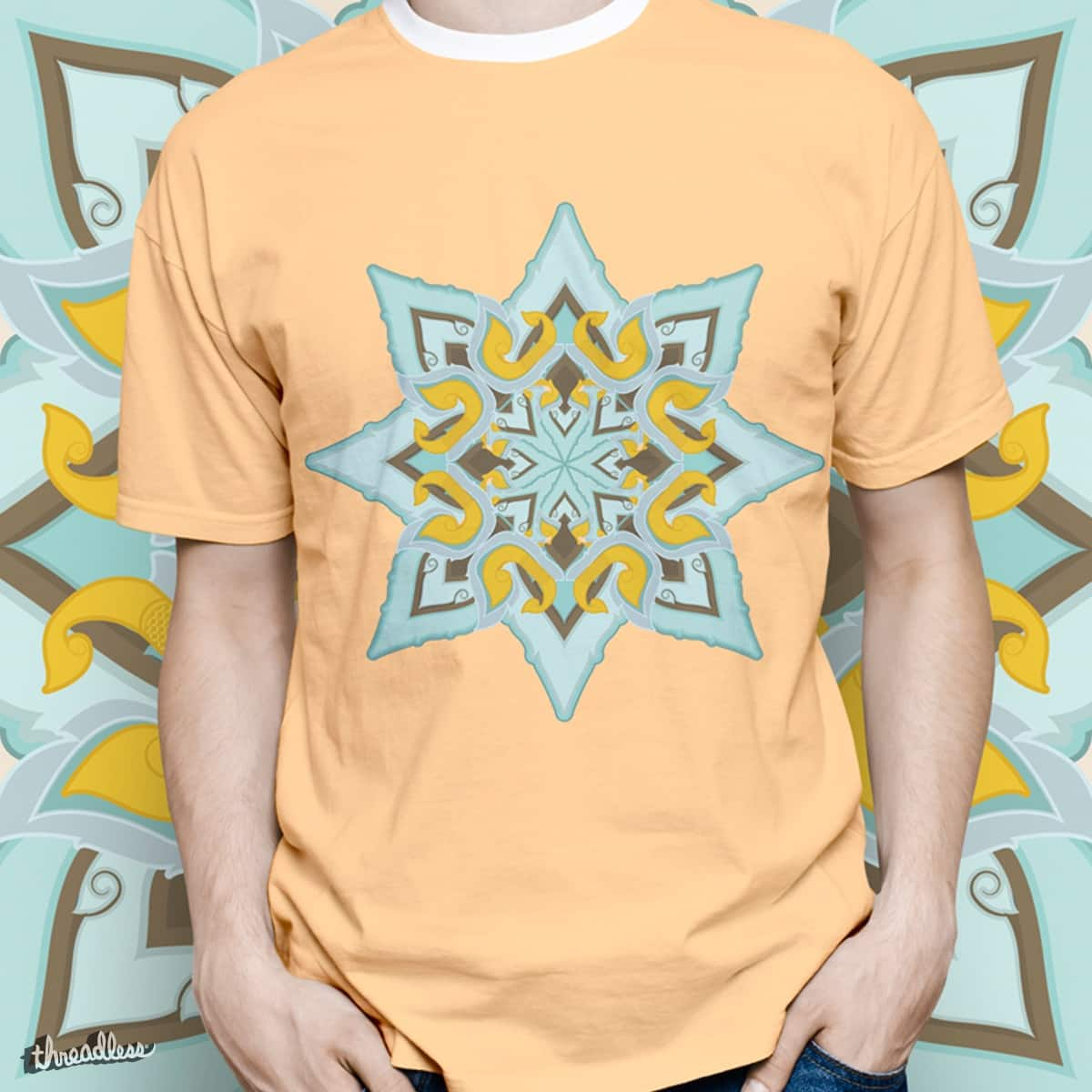Complex Lai thai Star by LuisFaus on Threadless