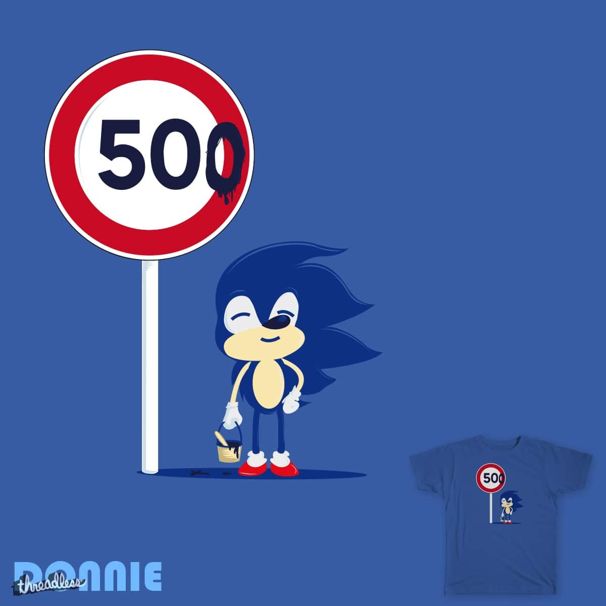 No Limit by DonnieArt on Threadless