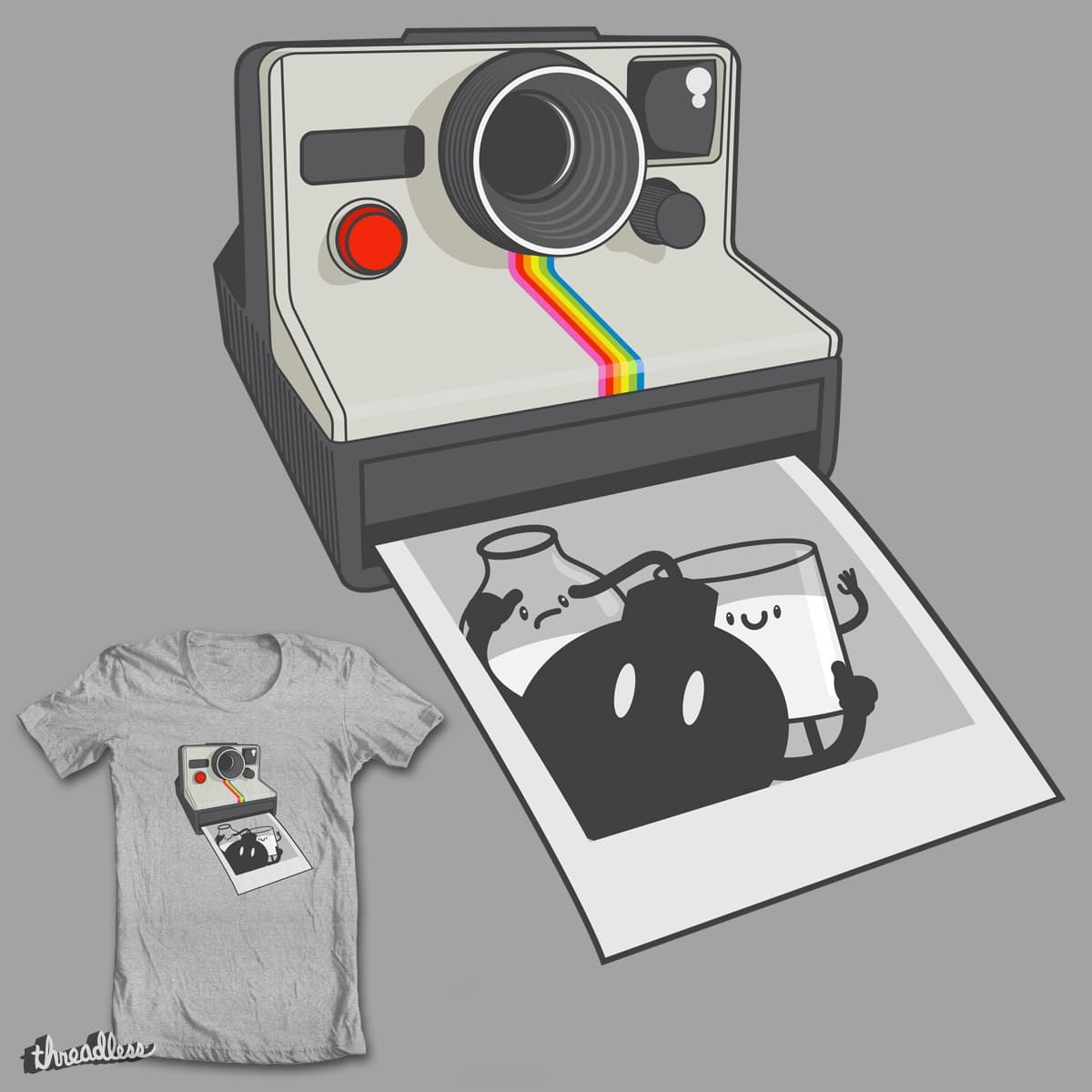 Photo Bomb by mip1980 on Threadless