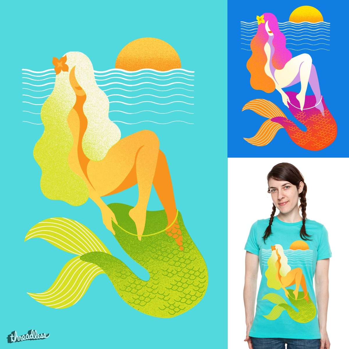 Sea leggings by steamedbun on Threadless