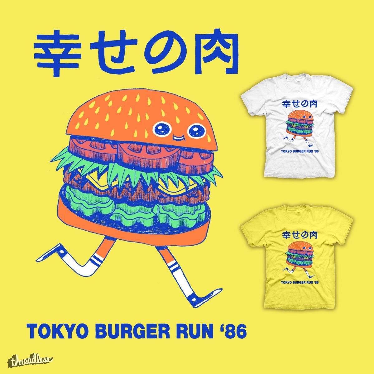 Burgerman by zackOlantern on Threadless