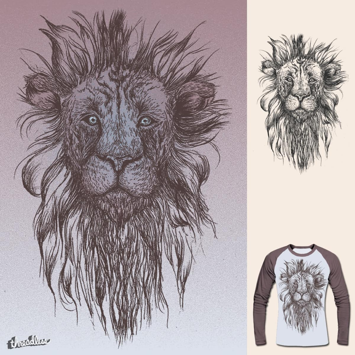 Crud the Lion by RAIL-GUN on Threadless