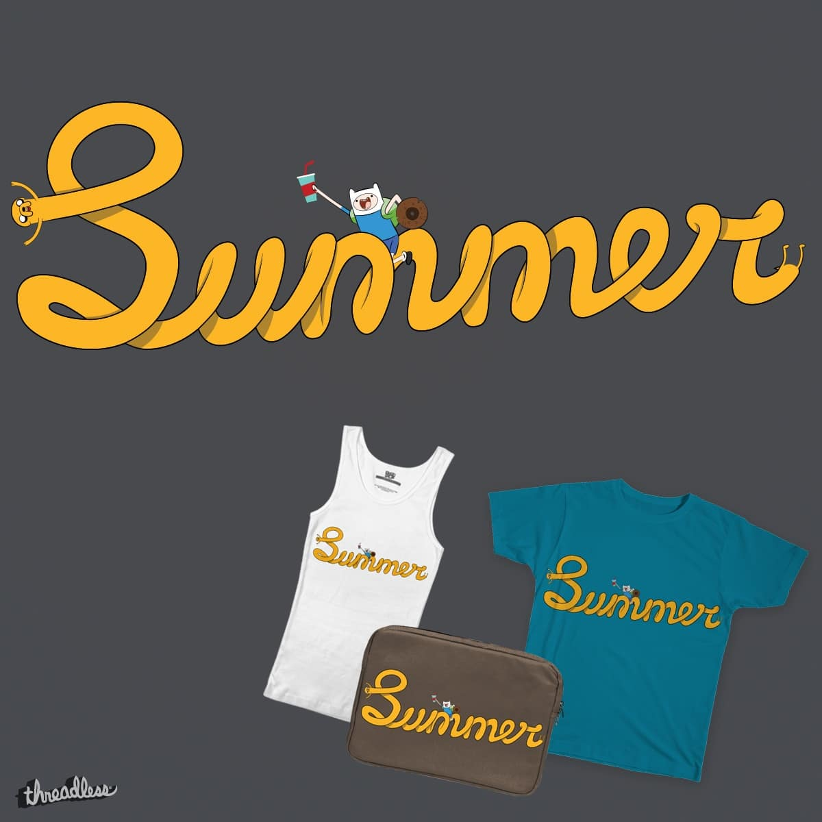 Summer Time by PavelsLavrinovics on Threadless
