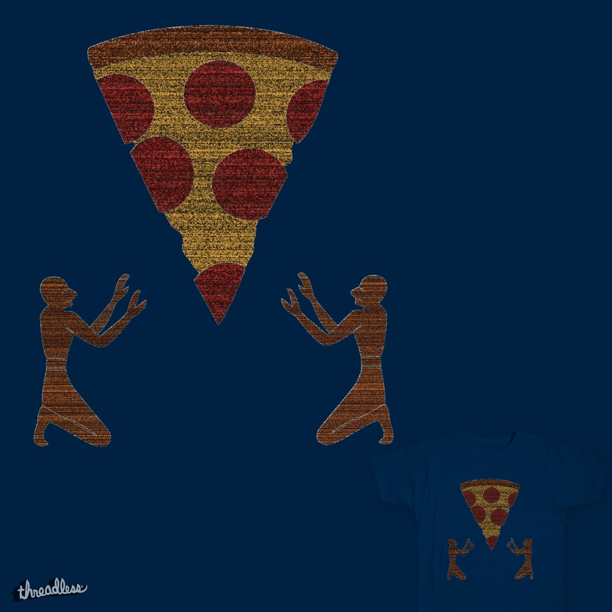 Pizza Worship by AndrewEllison on Threadless
