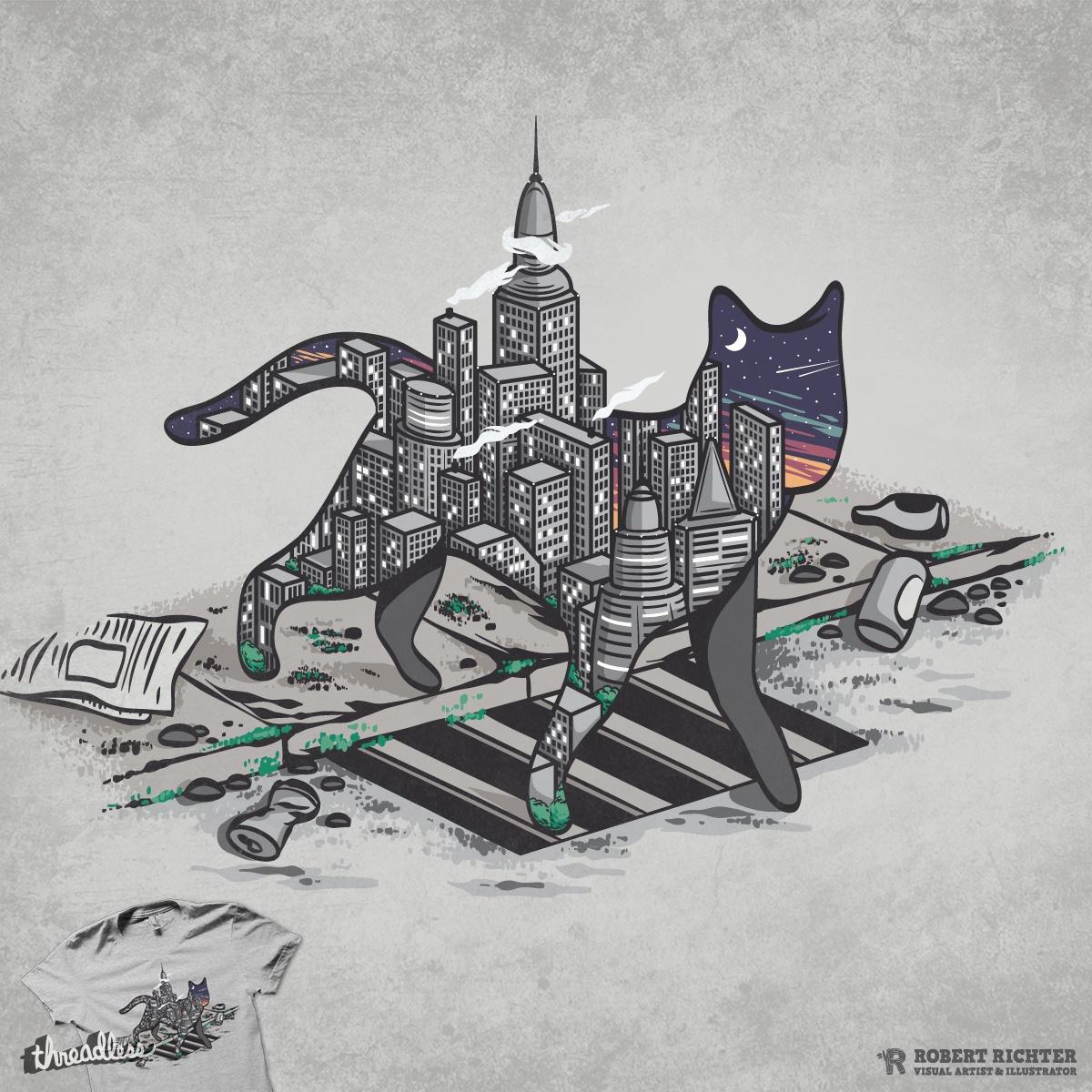 City Cat by Robert_Richter on Threadless