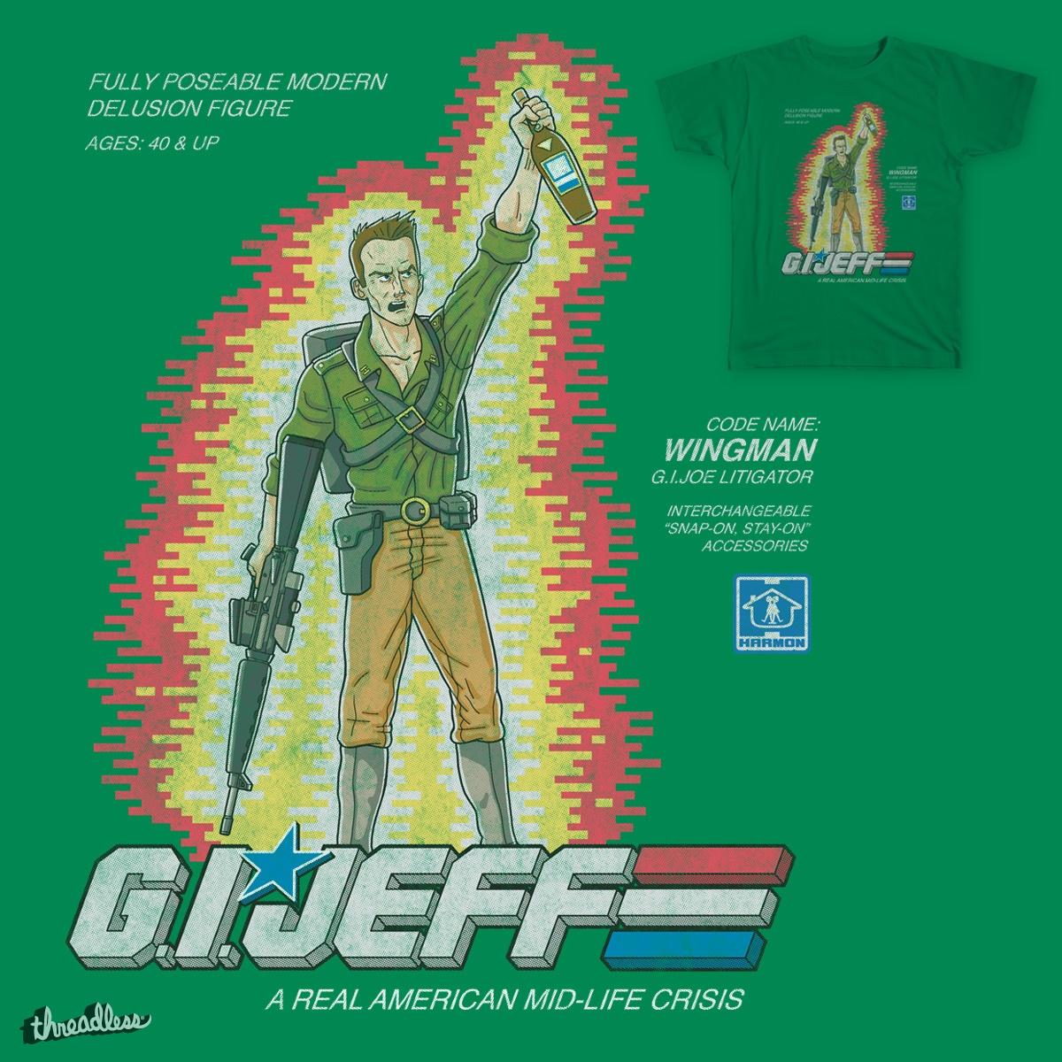 G.I. JEFF by blackhand_ on Threadless