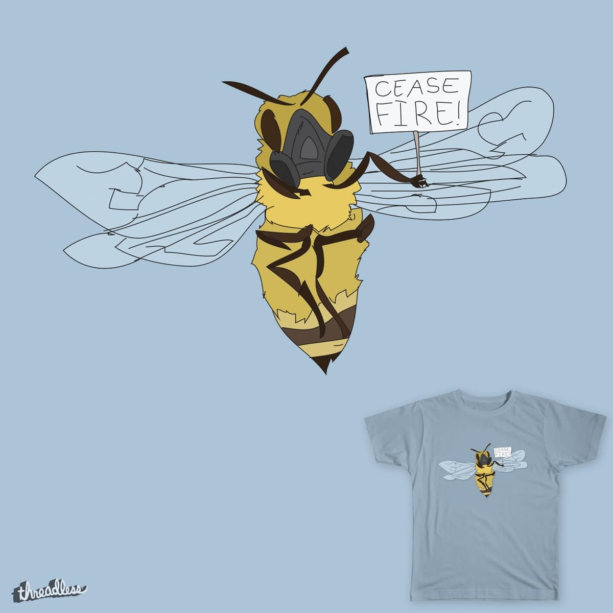 Cease Fire! by matt.brown.31521 on Threadless