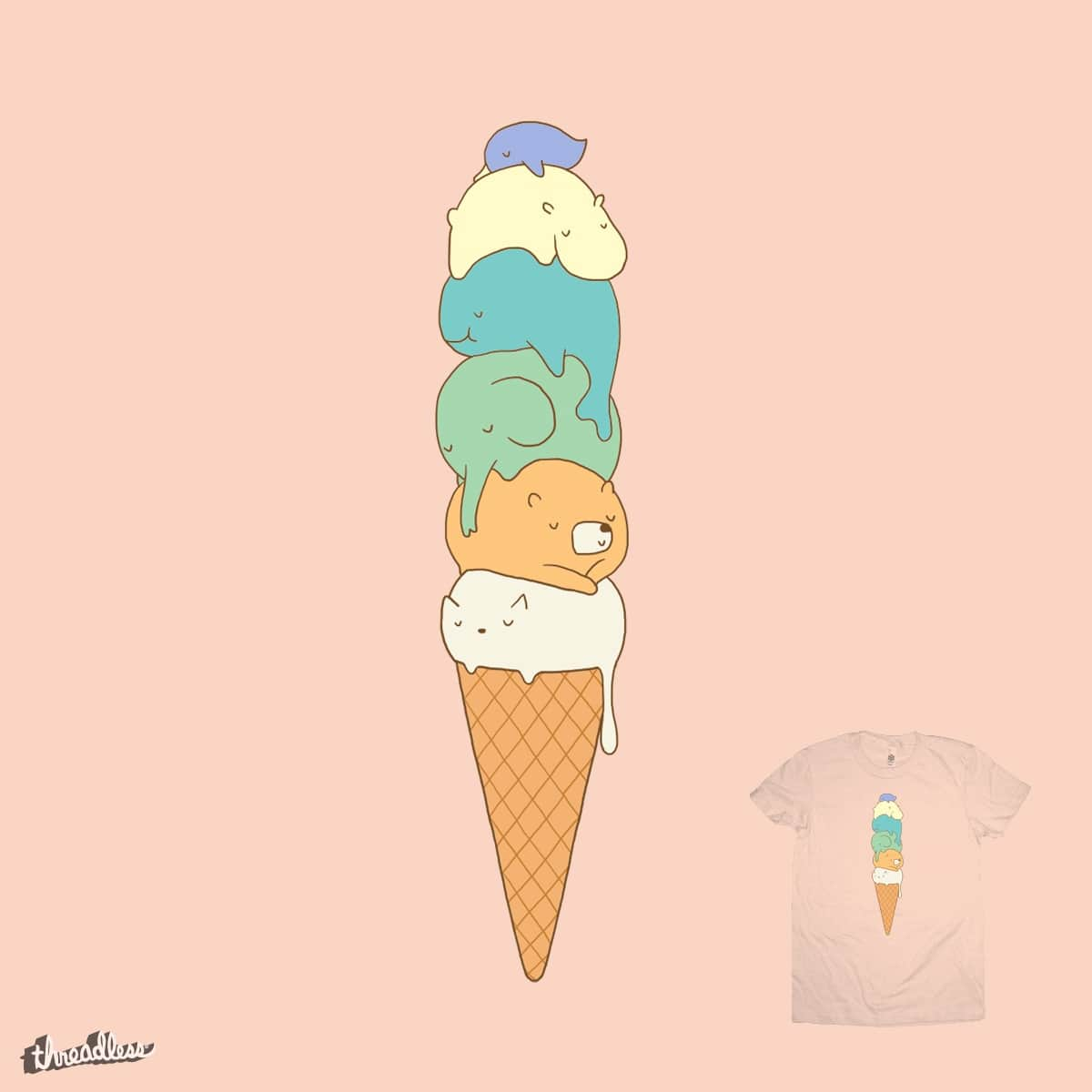 Melting by ilovedoodle on Threadless