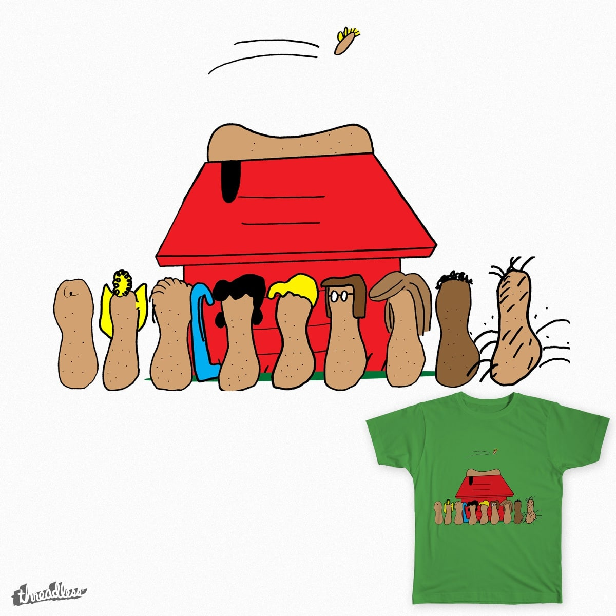 Peanuts by cmschulz on Threadless