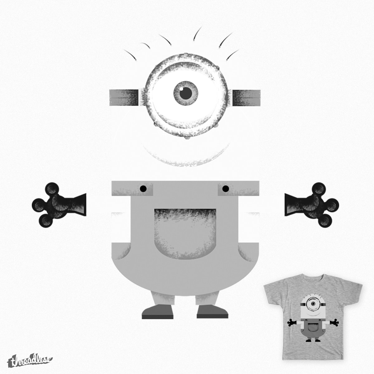 Oh!! It's Minion!! by wearecoba on Threadless